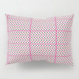 Pink Eye Pillow Sham