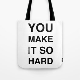 Disco Moment 'So Hard' Tote Bag
