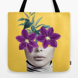 Floral Portrait 2 Tote Bag