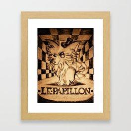 LE PAPILLON Framed Art Print
