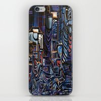 las vegas iPhone & iPod Skins featuring Vegas by Taylor deVille
