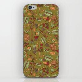 autumn cleanup iPhone Skin