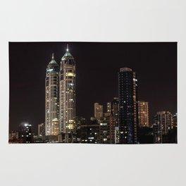 Mumbai India Skyline Rug