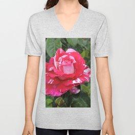"""A Rose Named """"Neil Diamond"""" Unisex V-Neck"""