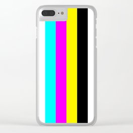 CMYK Clear iPhone Case