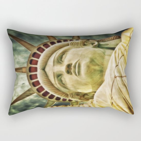 Statue of Liberty 4 Rectangular Pillow