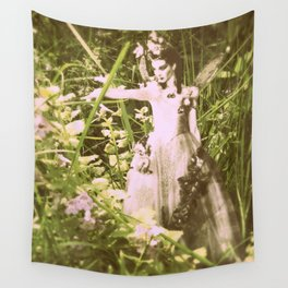 Shaylee Fairy Princess of the Field Wall Tapestry