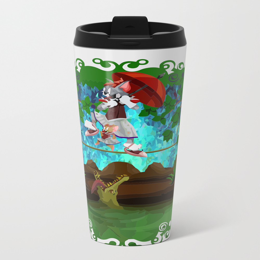Haunted Tom Jerry Travel Mug TRM7788660