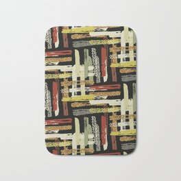 Tribal Abstracts 1 Bath Mat