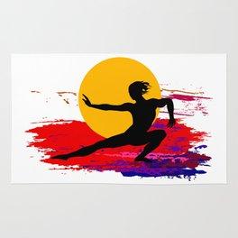 Martial art, karate, judo, aikido, self defence Rug