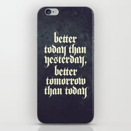 be better iPhone Skin