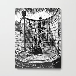 'Spirit Of Life' Saratoga Springs NY - Original Art - Statue Artwork Metal Print
