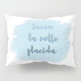 Tacea La Notte Placida | Il Trovatore | Verdi Pillow Sham