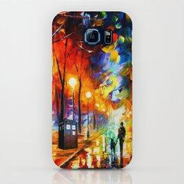 Tardis Art Watching iPhone Case