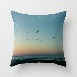 (Sun is) Gone Throw Pillow