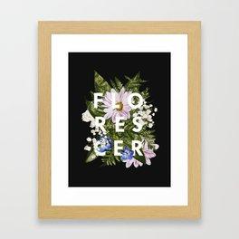 Florescer Framed Art Print