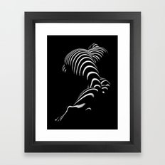 0774-AR BBW Sensual Legs Hips and Ass of a Large Woman Big Beautiful Art Nude Black and White Framed Art Print