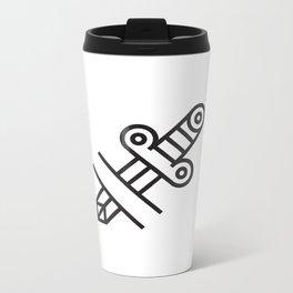Dagger Tattoo Metal Travel Mug