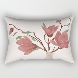 Vase Rectangular Pillow