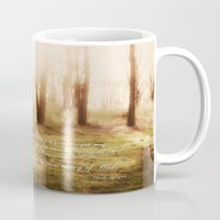 forrest gump Mugs featuring Forrest by Terri Ellis
