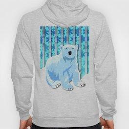 Lonely Canadian Polar Bear Hoody