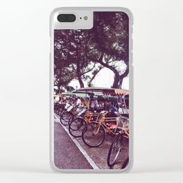 Bikes Clear iPhone Case