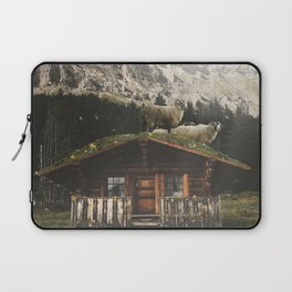 Sheep on the roof Laptop Sleeve