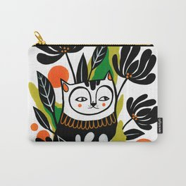 Mossy Cat Carry-All Pouch
