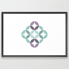 Shapes 007 Framed Art Print