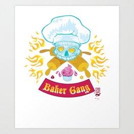 Baker Gang Art Print