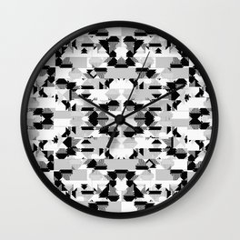 GRAPHIC TRIBE Wall Clock