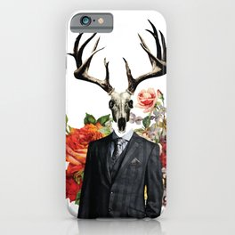 Hannibal as the Wendigo iPhone Case