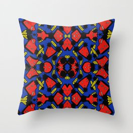 TWISTIES AND SHAPES Throw Pillow