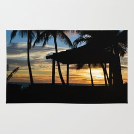 Hawaii Sunset 2 Photo Rug