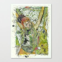 Crucifiction  Canvas Print