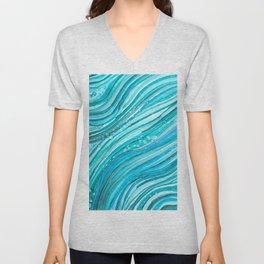 Ocean Waves Unisex V-Neck