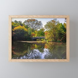 Lullwater Bridge, Brooklyn NY Framed Mini Art Print