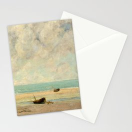 The Calm Sea - Gustave Courbet Stationery Cards
