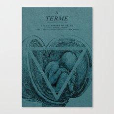 A Terme - MINIMALIST POSTER Canvas Print