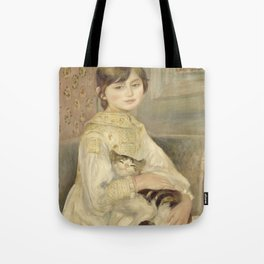 "Auguste Renoir ""Julie Manet"" Tote Bag"