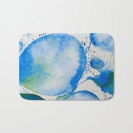 Blue Study Bath Mat
