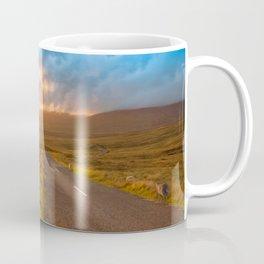 Sunset Wicklow Mountains Ireland Coffee Mug