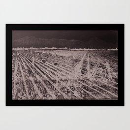Planting Art Print
