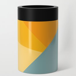 Abstract Mountain Sunrise Can Cooler