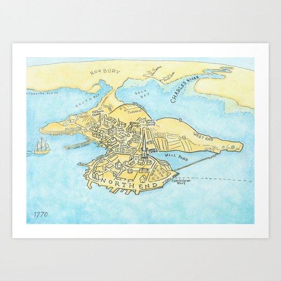Boston 1770 Art Print