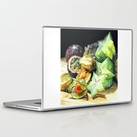 fruit Laptop & iPad Skins featuring FRUIT by Anne Hviid Nicolaisen