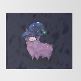 Witch Alpaca Throw Blanket