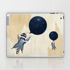 Raccoon Balloon Laptop & iPad Skin
