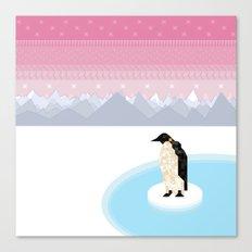 Penguin Time Canvas Print