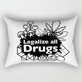 stay free Rectangular Pillow